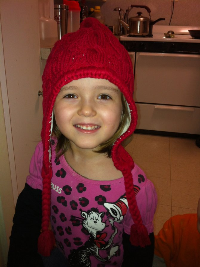 Jasmine Cole, 4, was diagnosed with brain cancer for the second time in January. She has had numerous surgeries and weeks of radiation and chemotherapy. 
