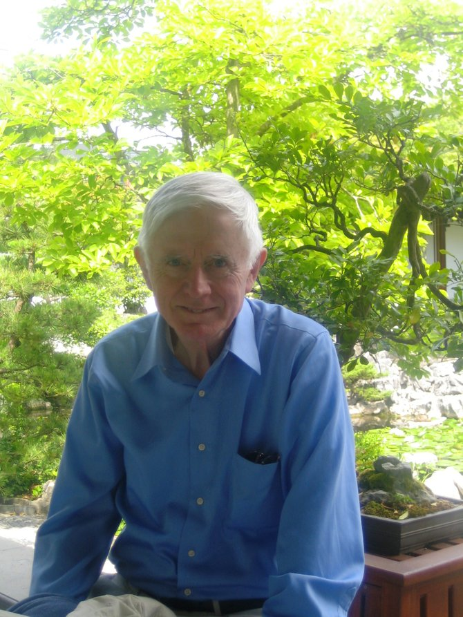 Anthony McCann, retired English teacher from Shenendehowa Schools will be taking part in services for Holocaust Remembrance Day at Congregation Beth Shalom on April 18. Photo Submitted.