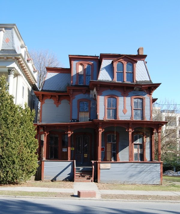 The fate of this 66 Franklin St. property in Saratoga Springs rests with the actions of its owner. Photo Submitted.
