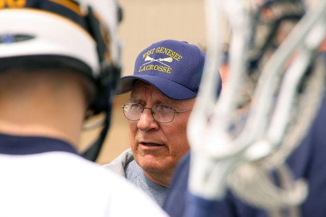 West Genesee boys' lacrosse coach is approaching a national coaching wins record.