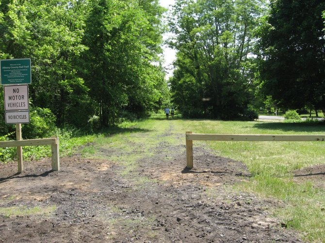A class action lawsuit on the federal level targets the establishment of the Albany County Rail Trail. Neighboring landowners claim the purchase of an easement by the county robbed them of their property rights, and they're seeking compensation from the federal government.