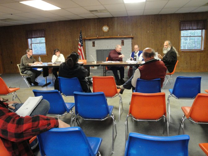 The Johnsburg Town Board meets at Scout Hall in Sodom Tuesday, April 17.