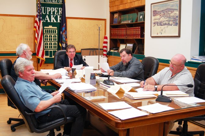 The Tupper Lake Village Board.