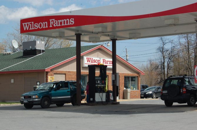 This Wilson Farms in Peru, along with a store in Plattsburgh, will close at the months end due to disappointing sales.