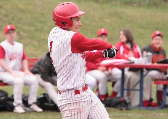 Matt Savarie had three hits for Schroon Lake, including a home run and a double, as the Lions played Elizabethtown-Lewis to a 11-11 tie in a suspended game April 23.