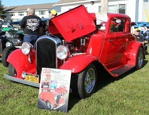 Hot rods with a lot of chrome and impressive motors will be on display at the Saratoga Nationals Expo. Photo submitted.