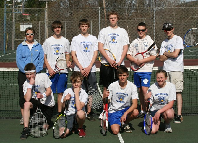 2012 Johnsburg Central School tennis team
