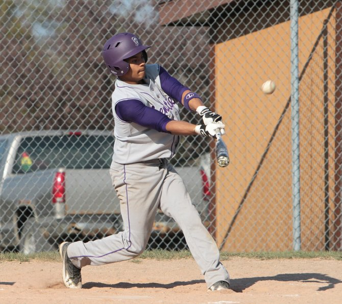 Miles Austin had two hits to help Ticonderoga beat Moriah, in Champlain Valley Athletic Conference baseball action April 27.