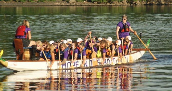 Hope in the Boat, a dragon boat team of breast cancer surivors, will hold an orientation program on Wednesday, May 2, at 6 p.m. at Hope Club in Latham. To RSVP for the orientation, visit www.hopeintheboat.org or call 765-2307. 