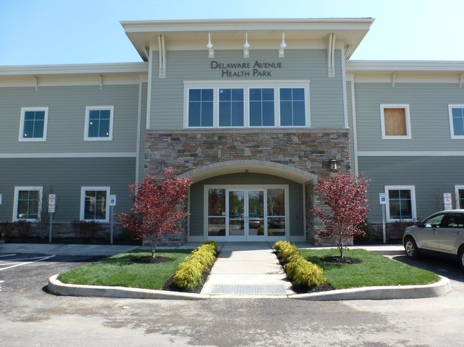 Community Care Physicians in Delmar officially opened on Monday, April 16.