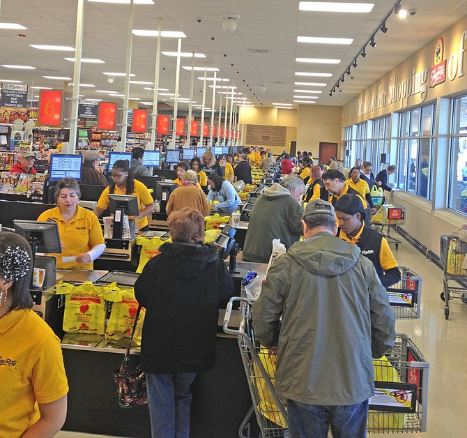 ShopRite's Central Avenue location in Albany comes on the heels of a Niskayuna store, which opened in October 2011.
