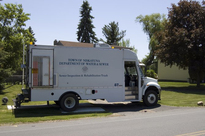 Niskayuna officials purchased a grout truck as a cost effective solution to repairing the sewer pipes throughout the town.