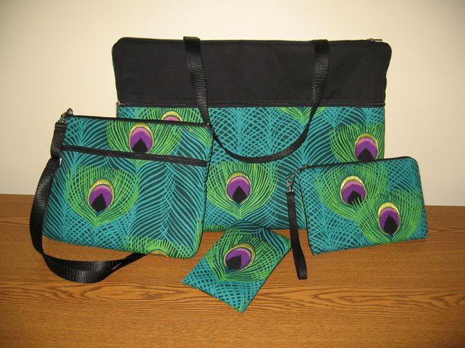 """This """"tech set,"""" donated by Janine King Designs, will be available for purchase at CRIS' Second Annual Silent Purse Auction."""