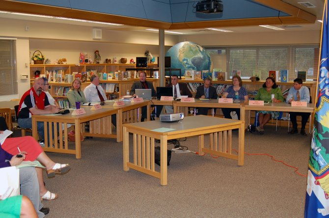 The Tupper Lake School Board meets Monday, May 7 at the L.P. Quinn Elementary School.
