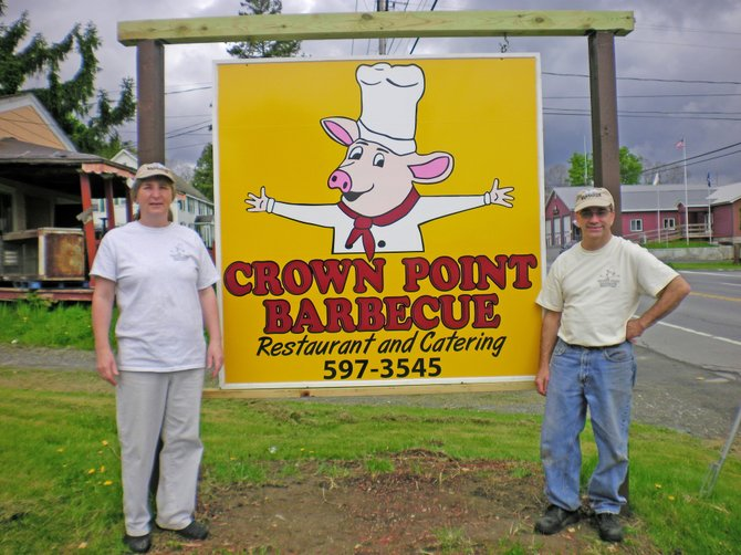 Owners Cindy and Joe Bodette have changed the name of Frenchman's Restaurant to Crown Point Barbecue Restaurant and catering.
