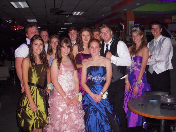 Some Shen students enjoying festivities at an After Prom Party hosted by CAPTAIN. The parties have been a tradition for 28 years, and are billed as a safe way for students to celebrate. A survey from the Shenendehowa Community Coalition has revealed trends in drinking amongst students above the national average. Photo submitted.