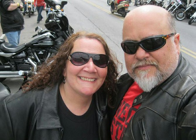 "Lisa Petrocelli recently published ""The Gloves Come Off,"" which takes a look at the biker culture and community."