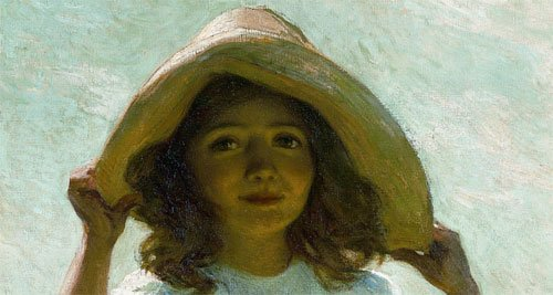 Child in Sunlight, a 1915 painting by Willard Metcalf (1858-1925), will be on display to the public during the presentation American Impressionism: Paintings of Light and Life, at 7 p.m. May 30 in the Cazenovia Public Library.