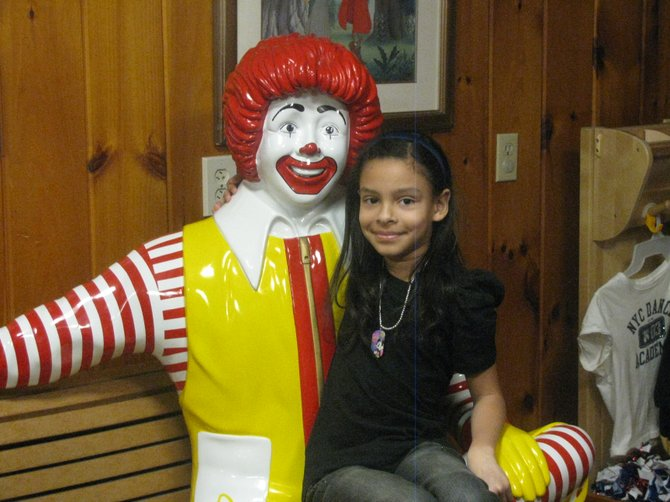 Rachel Furlong has made two trips to the Ronald McDonald House to drop off her collections, and she recently had the opportunity to tour the facility.