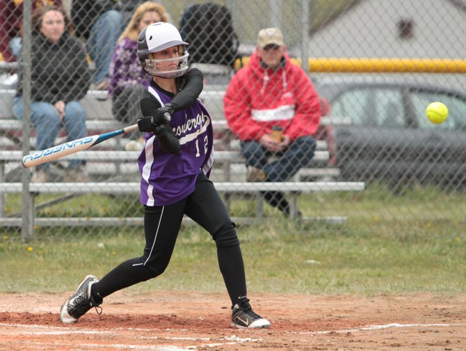 Andrea Rich had four hits and four runs batted as Ticonderoga blanked Moriah, 15-0, to win the Champlain Valley Athletic Conference Division II softball title May 18.