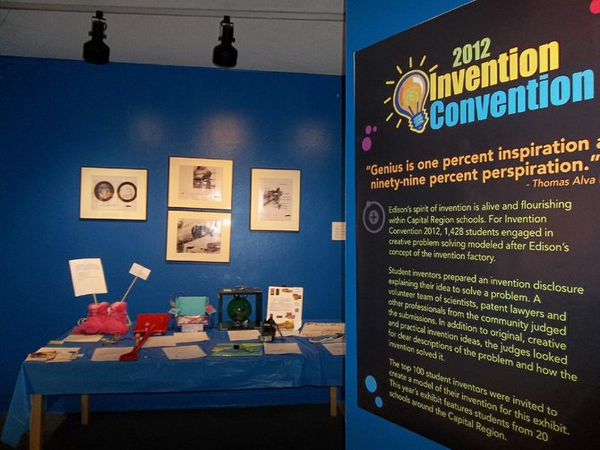 The Invention Convention, an annual event hosted by the Schenectady Museum draws some interesting innovations. Photo Submitted. 