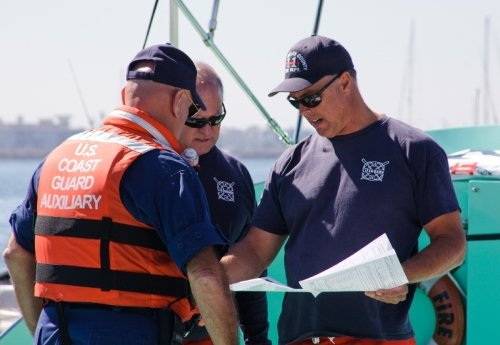 Members of the United States Coast Guard Auxiliary Flotilla 15/13 will once again join with the Ticonderoga Elks in working to make the 2012 Elks Fishing Tournament a success.