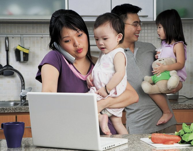 The first thing young parents need to do to tackle their finances is to create a budget.