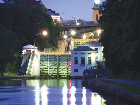 """Lockport Locks"" by Stephen Bye was one of the winning photos featured in this year's Erie Canalway calendar."