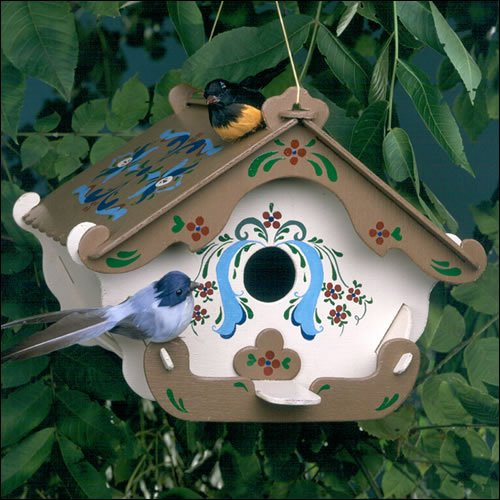The third annual Ticonderoga street art project seeks to decorate downtown sidewalks and stores with hand-painted, hand-crafted birdhouses.