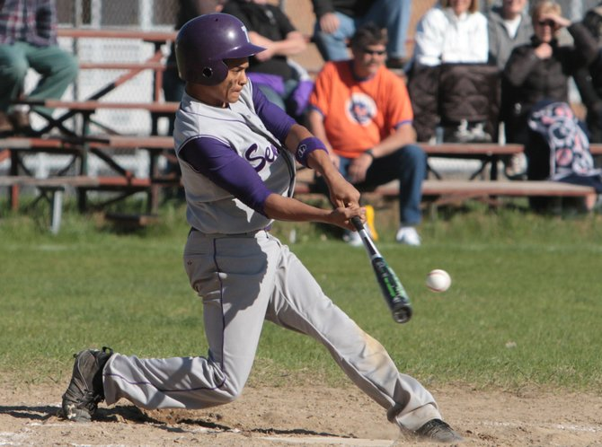 Miles Austin helped Ticonderoga blank Moriah, 11-0, to win the Section VII Class C baseball championship May 30.