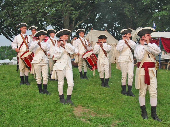 Fife & drum corps from around the country will be part of this year's Ticonderoga Streetfest. The corps will be in town to participate in the annual Fort Ticonderoga fife & drum crops muster and have agreed join the Fort Ti Fife & Drum Corps at the downtown event Saturday, July 28.
