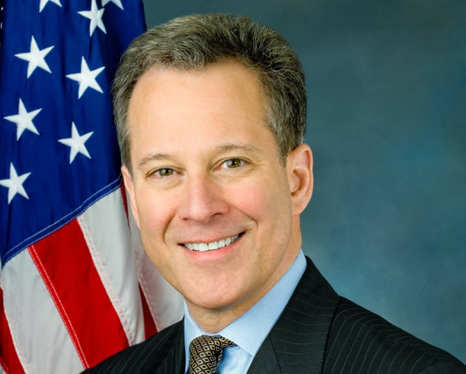 New York State Attorney General Eric T. Schneiderman.