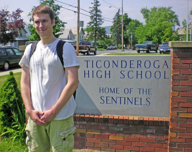 Andrew terSteege had perfect attendance while attending Ticonderoga schools. Not just high school, all school. terSteege never missed a day of class from kindergarten through graduation — that's 2,353 days without an absence.
