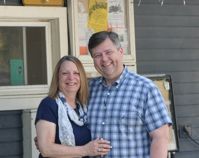 Kevin and Debby Neubert are owners of the Belmont General Store in Mt. Holly, Vt.