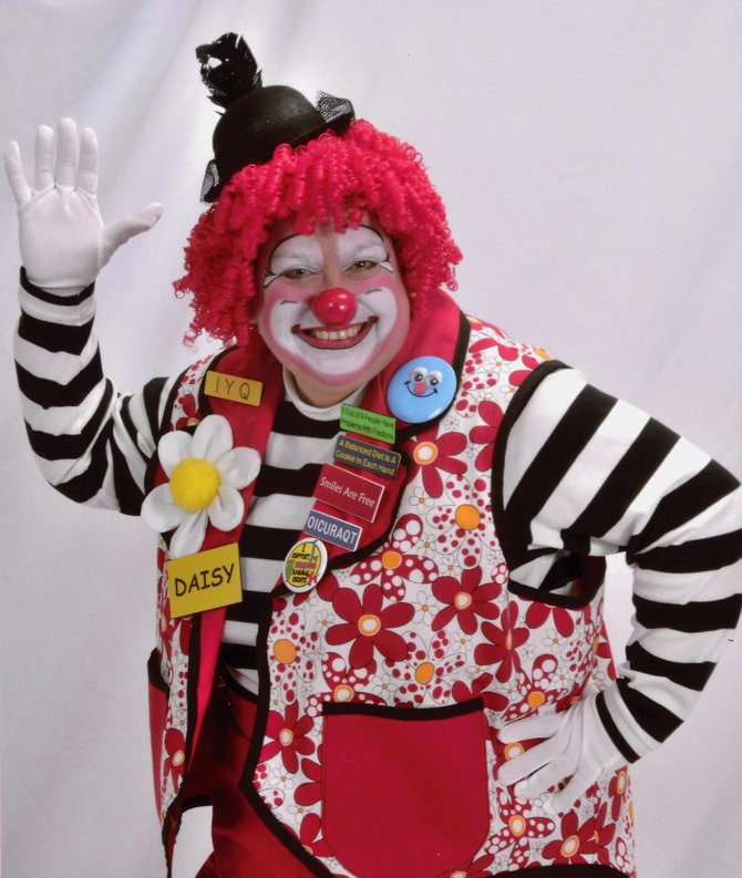 Daisy the Clown is a face painter, creative balloon artist, magician and more.