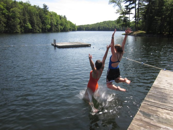 Camp Little Notch offers many opportunities for young women to discover nature and much about themselves. Photo Submitted.