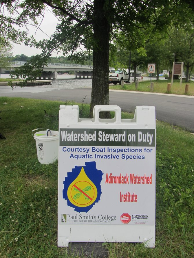 Lake stewards will be on duty all summer at Saratoga Lake, performing courtesy inspections. 