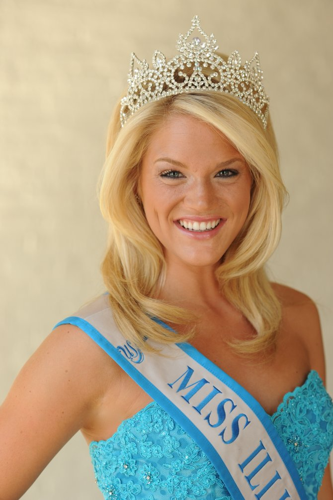 Alyssa Paulsen of Latham was crowned Miss Illinois in the state round of the USA Ambassador Pageant while finishing up her sophomore year at Wheaton College in Chicago. She was attracted to the pageant because of its focus on community service, something that's important to her.