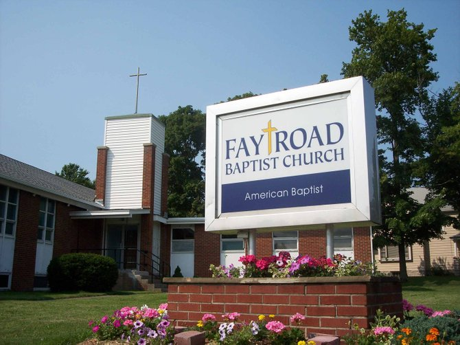 Fay Road Baptist Church, located at 750 Fay Road, Syracuse, will hold services at 7 p.m. Wednesdays this summer.