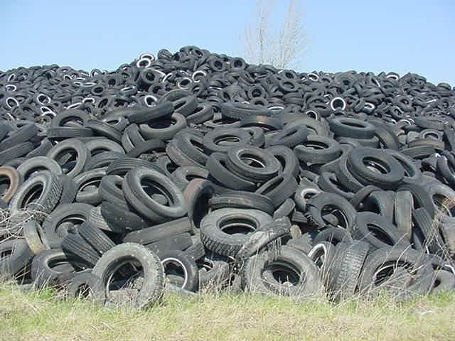 Got old tires? The State of Vermont wants to know this summer.