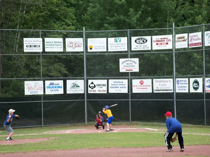 The all-stars game was one of the first events held during North Creek and the Town of Johnsburg's Independence Day Celebration.
