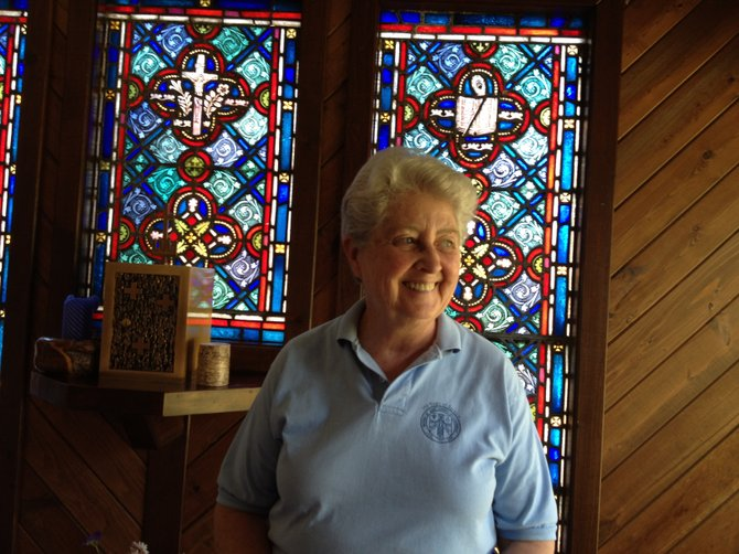 For 25 years, Sister Connie Messitt has presided at The Priory, a hillside center near Friends Lake that has offered various workshops and retreats that have enriched the lives of many people in the region.