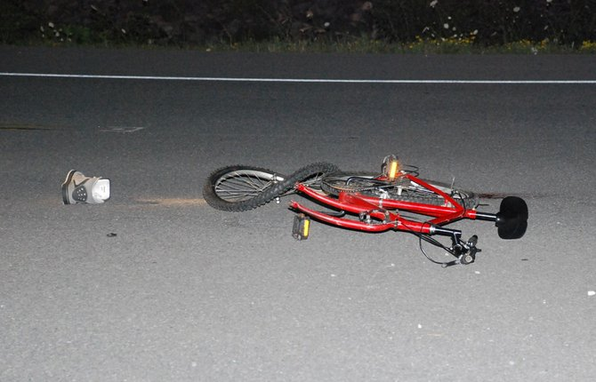 Bethlehem police say Shayne Coluccio, 16, of Selkirk, is still listed in serious condition after being struck by a tractor trailer while on his bike last night.