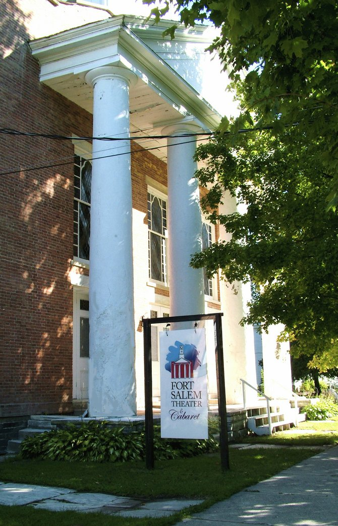 The Fort Salem Theater is an off-Broadway theater on the Vermont border in Southern Washington County.