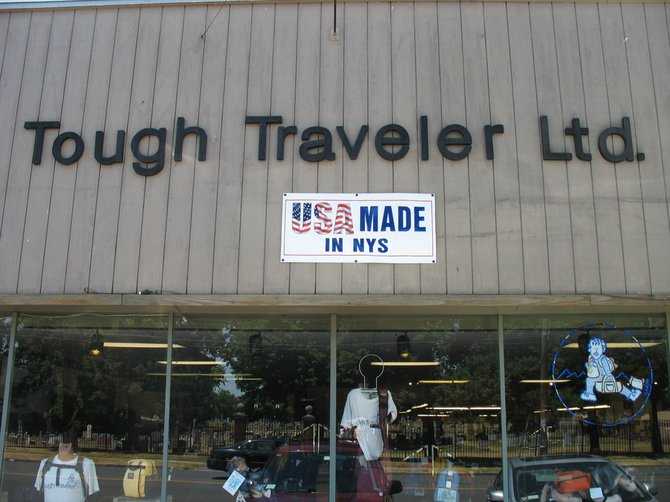 Tough Traveler products are available online at www.toughtraveler.com and also at the 1012 State St., Schenectady store.