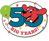 Clifford the Big Red Dog is turning 50 this year.