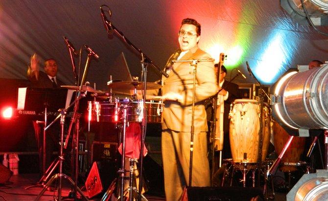 Tito Puente Jr. got everyone dancing at the 8th annual SKARTS gala fundraiser July 28.