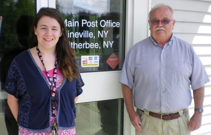 Jack Armstrong has retired after 26 years as postmaster in Mineville and Witherbee. Hes being replaced by Leah King of Willsboro.