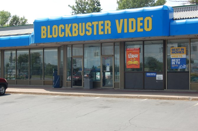 Blockbuster Video in Plattsburgh will not be closing its doors.