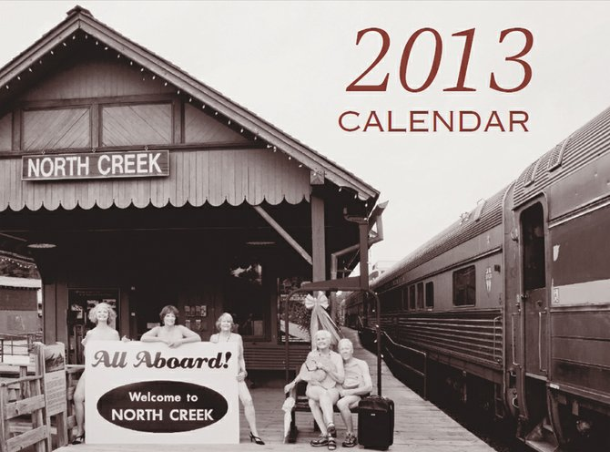 North Creek All Aboard 2013 calendar